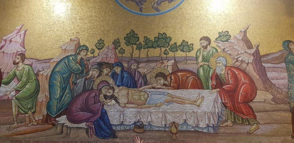 Mozaic Isus