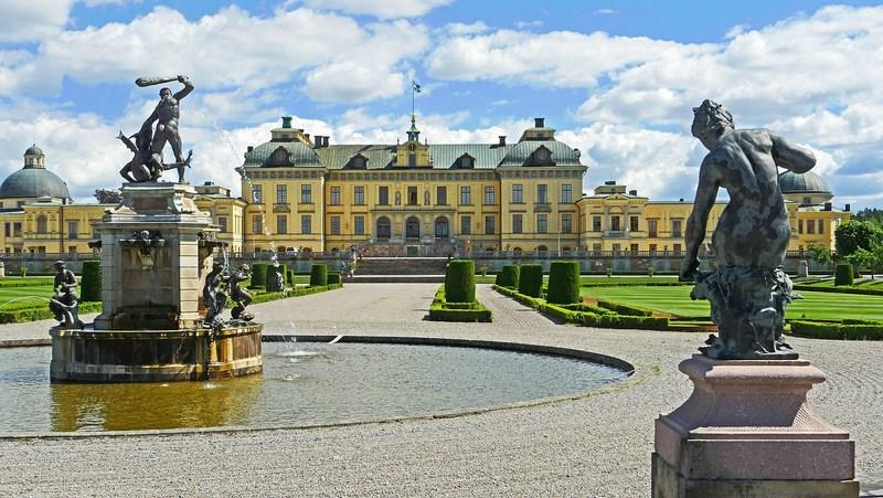 . Stockholm Drottningholm Palace