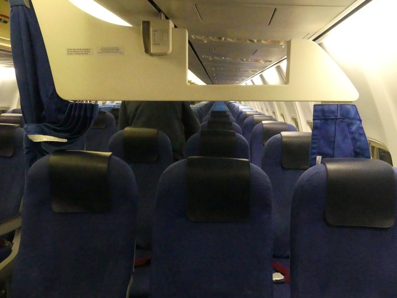 KLM Business Class Boeing