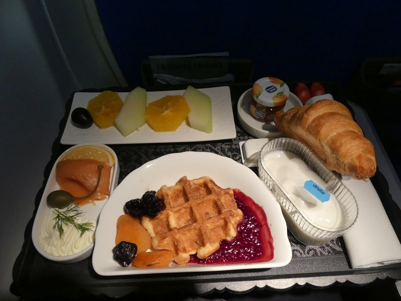 Mancare KLM