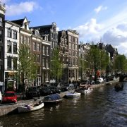 Canale in Amsterdam