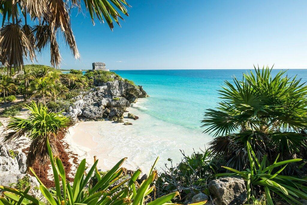 Ruine maiase tulum plaja turcoaz paradis calatorie de grup mexic