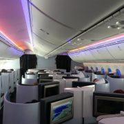 Business class KLM B
