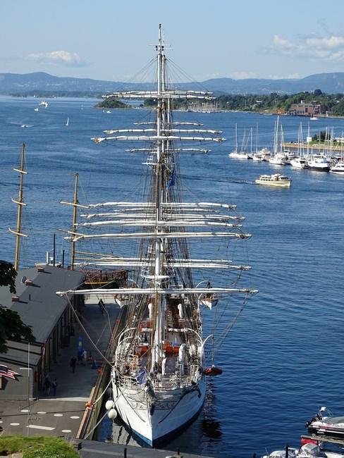 Corabie cu panze Oslo