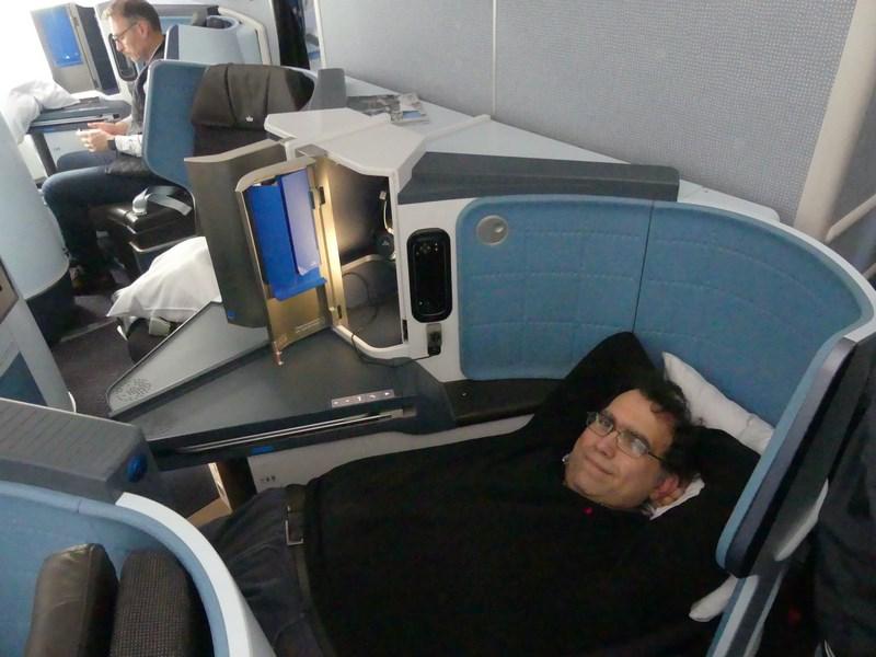 Business class KLM pat