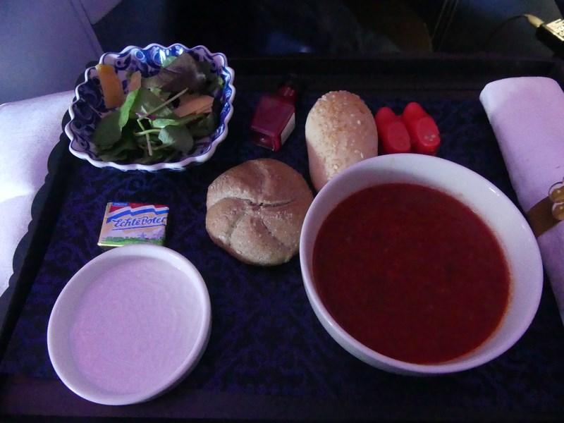 fel KLM business class