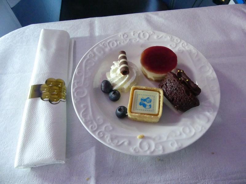 Desert KLM business class