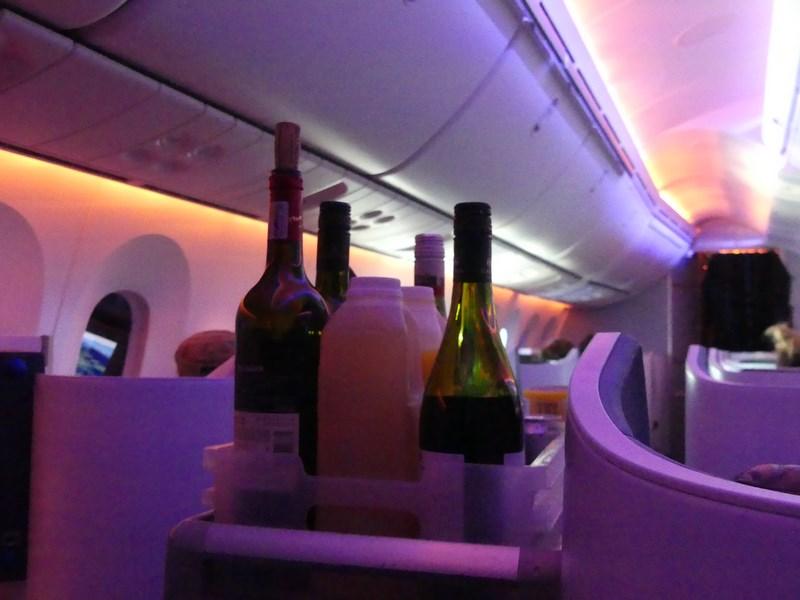 VIn KLM business class