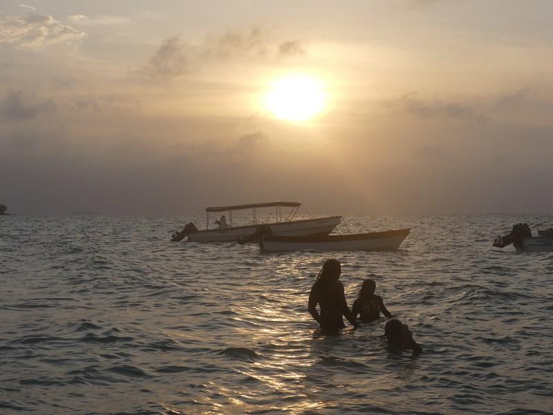 Apus de soare la mare
