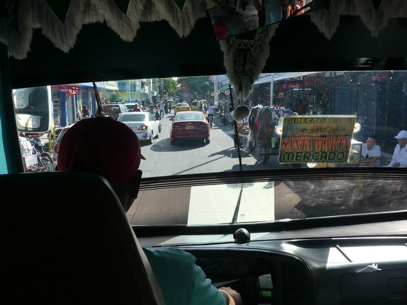 Bus Santa Marta Tayrona
