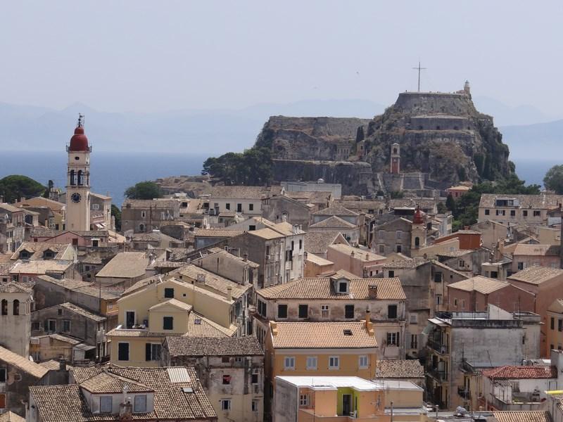 Panorama Corfu Town