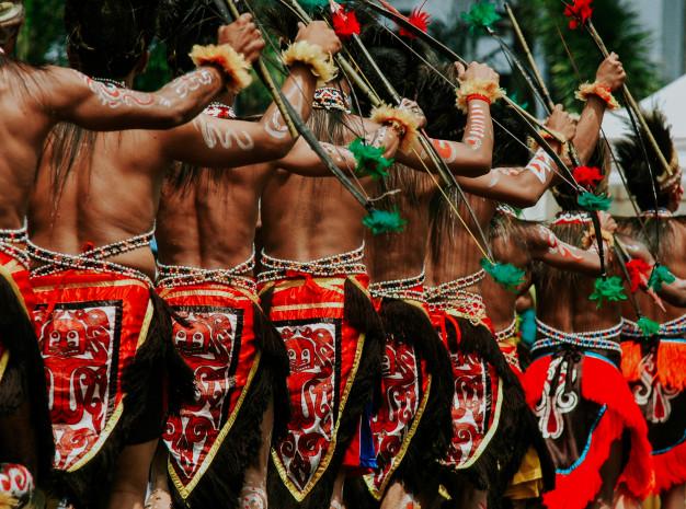 Costume Papua