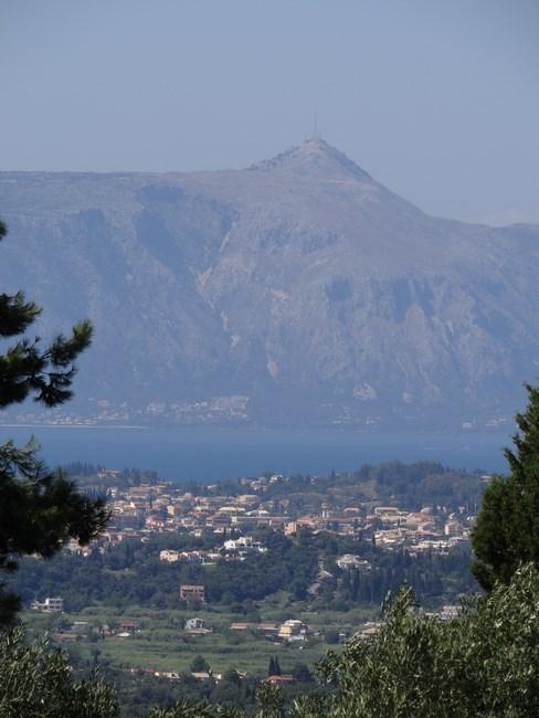 Pantokrator Corfu