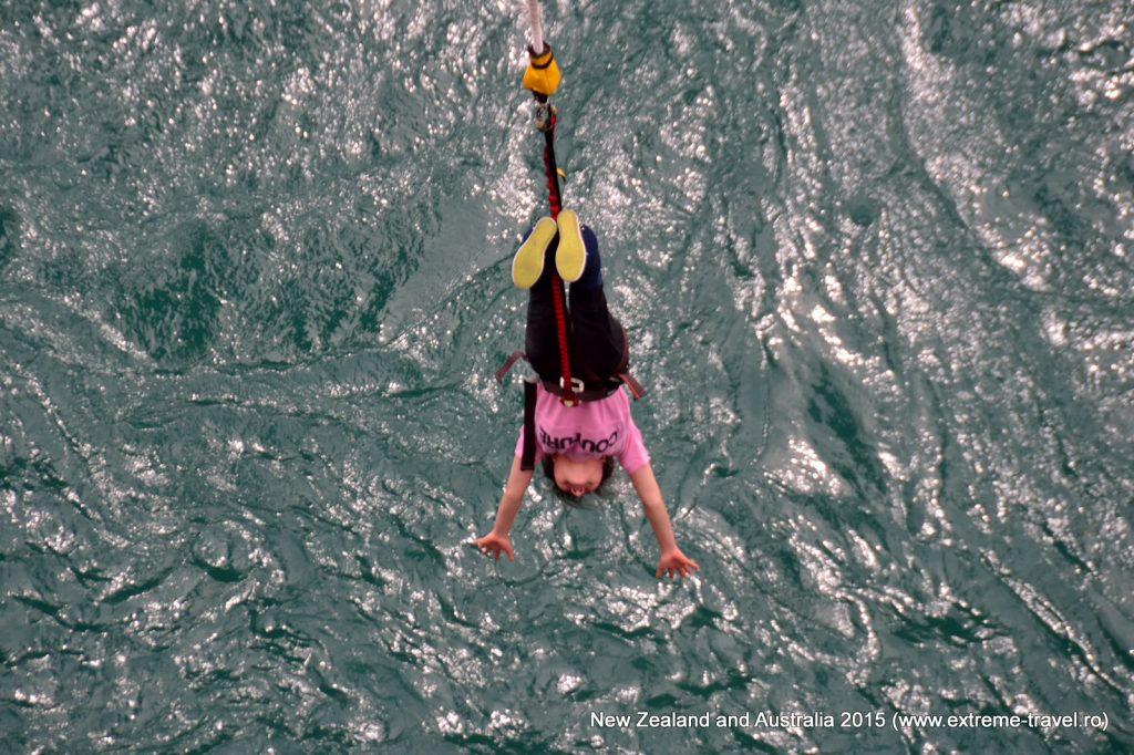 Bunge jumping Noua Zeelanda