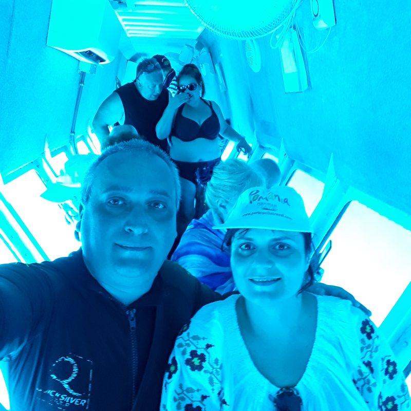 In submarin