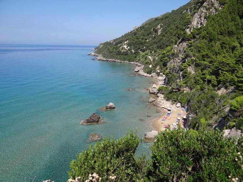 Mirtiotissa plaja nud Corfu
