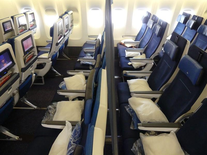 KLM premium economy vs. economy