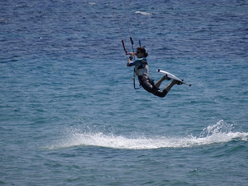 Kite surfing Corfu