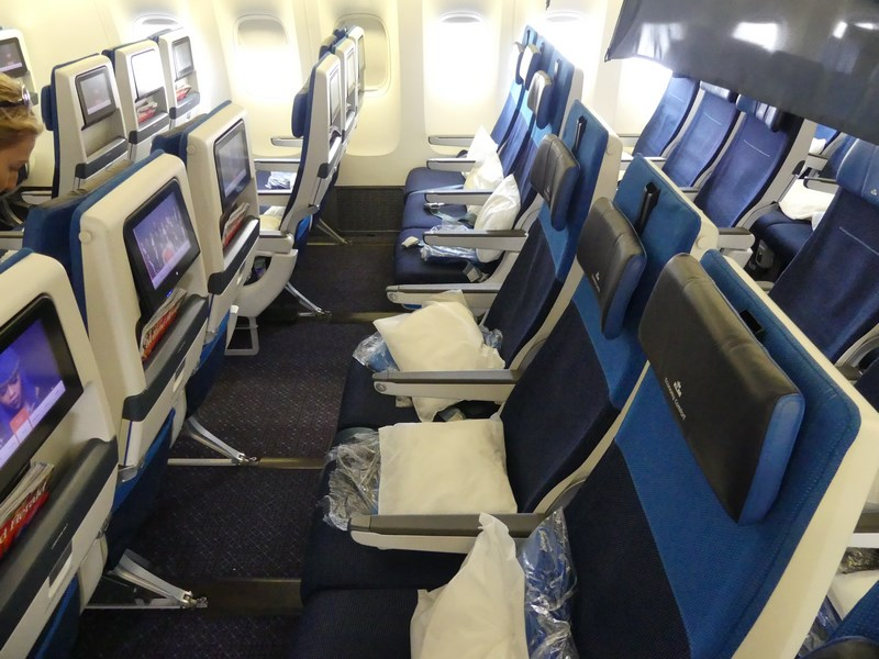 Premium economy KLM