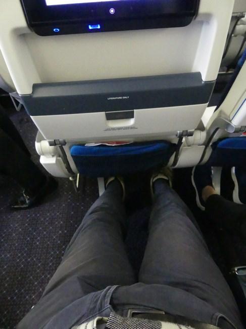 Premium economy KLM Quito Amsterdam