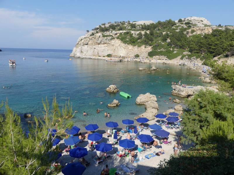 Anthony Quinn Beach Rhodos
