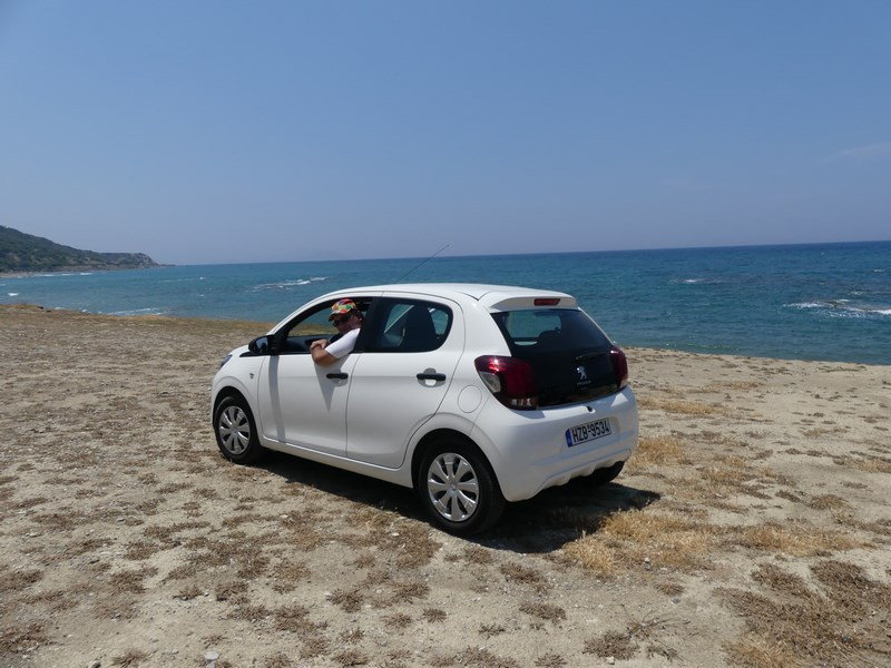 Rent a car Rhodos