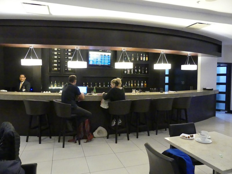 Business lounge Guayaquil KLM