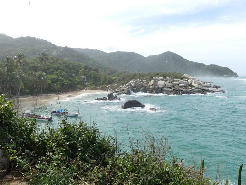 Plaja in Tayrona