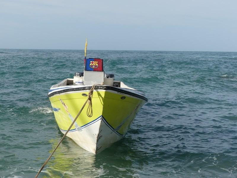 Tayrona Taganga boat