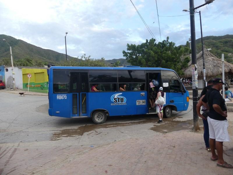 Bus Taganga Santa Marta