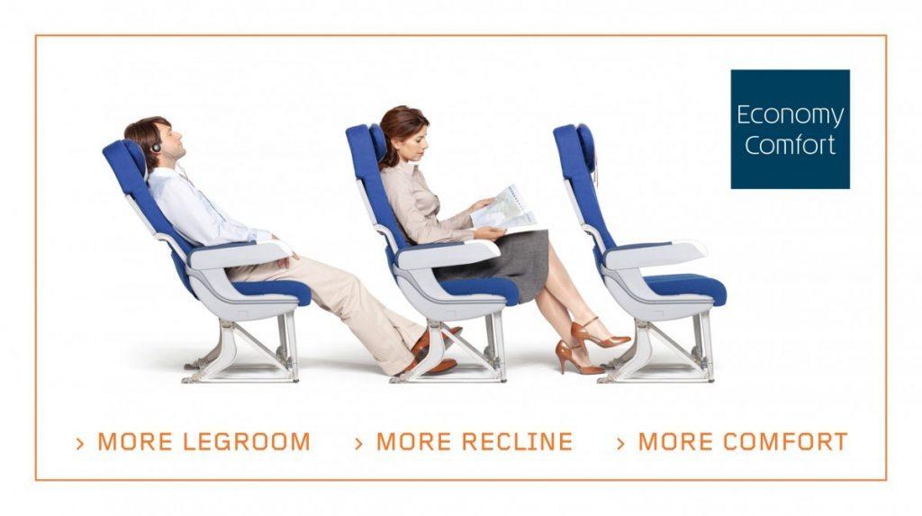 Economy comfort KLM