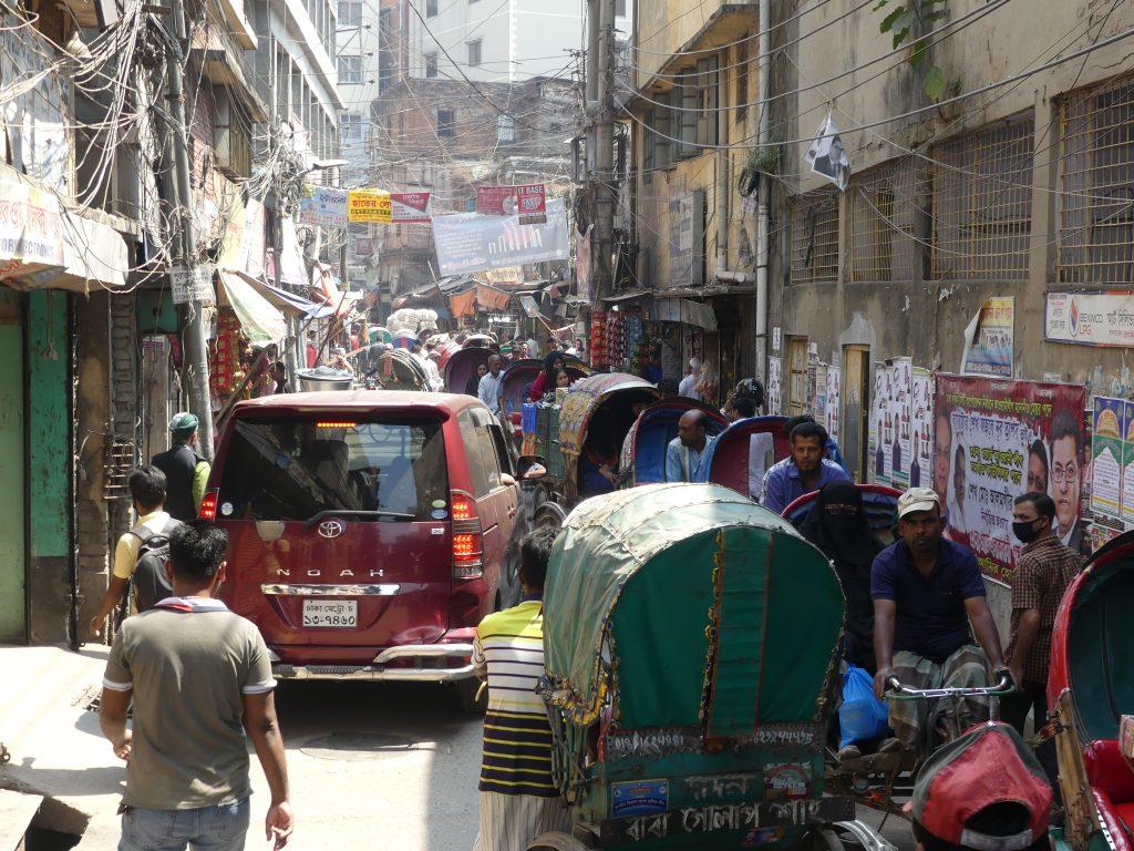Aglomeratie in Dhaka