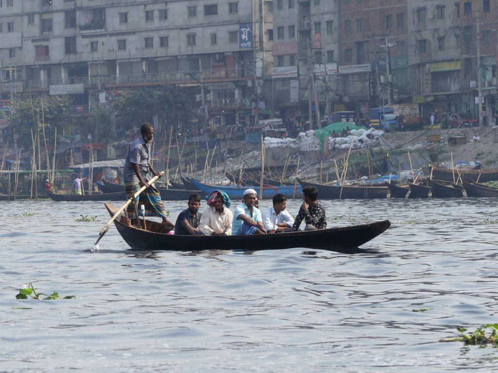 Ferry in Dhaka