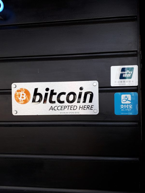 . Auckland se poate plati si cu bitcoin si cu alipay de la alibaba