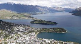 Queenstown si Wakatipu lake