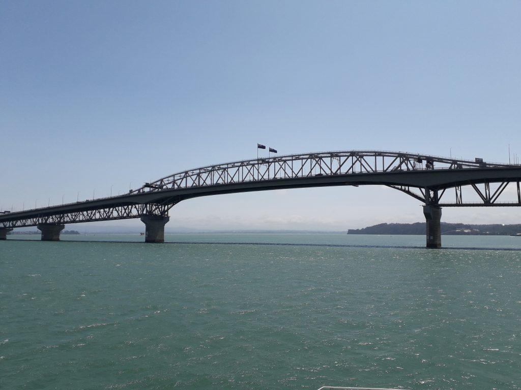 . Auckland harbour bridge