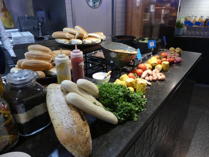 Pranz in KLM Lounge