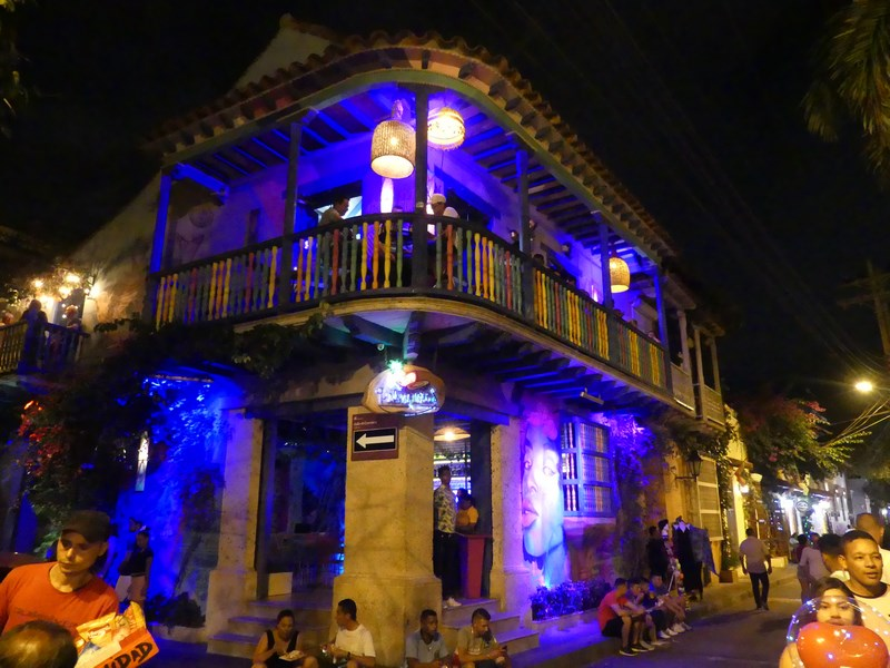 Bar Getsemani noaptea