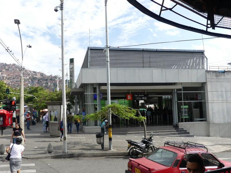 Metro San Javier Comuna Medellin