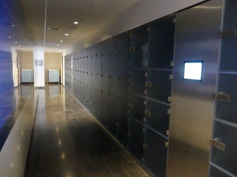 Locker lounge