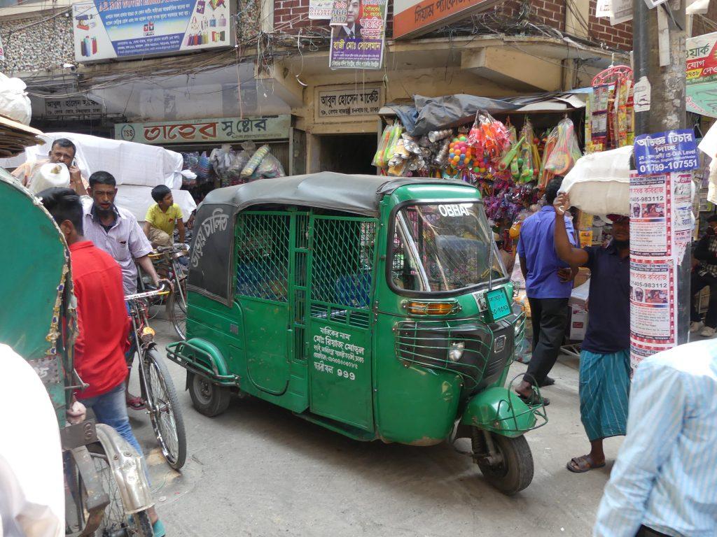 Tuk tuk Dhaka