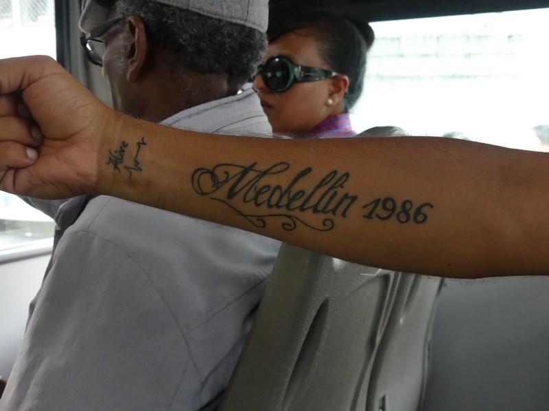 Tatuaj Madellin