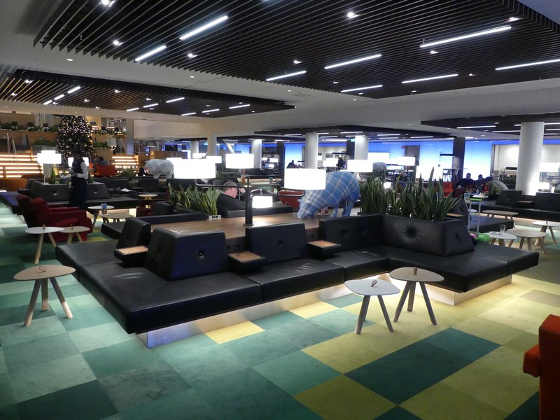 Business lounge KLM Amsterdam