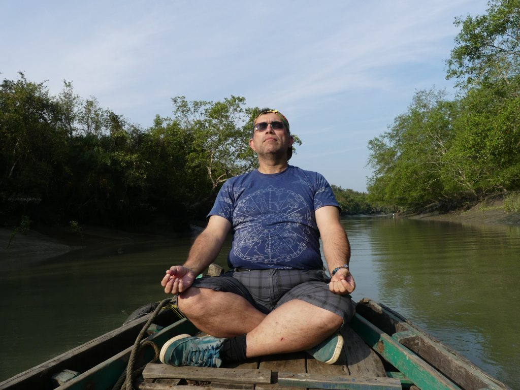 Yoga in Sundarbans