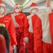 Air Asia uniforma COVID