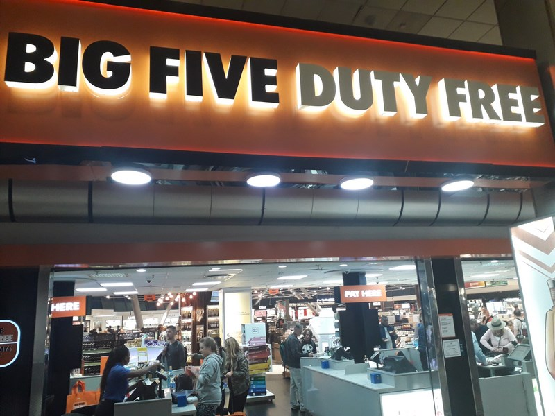 Big Five Duty Free