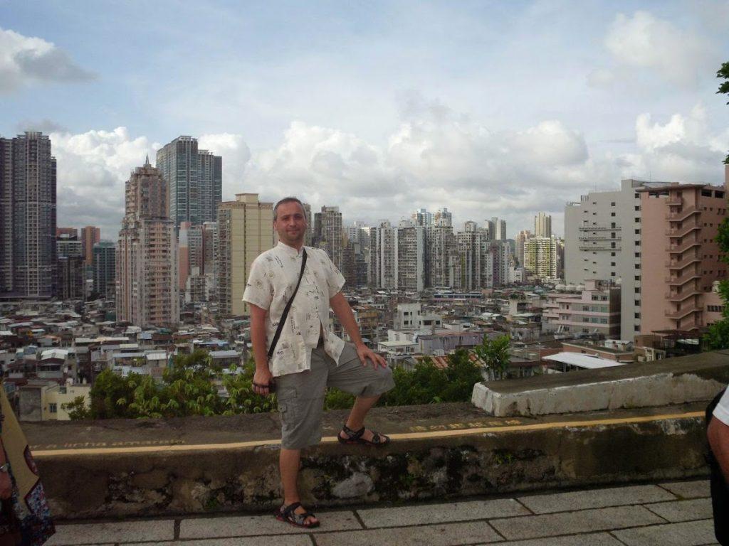 Eugen Jurca in Macao