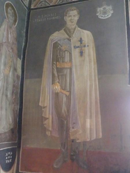 Regele Mihai la Sambata de Sus