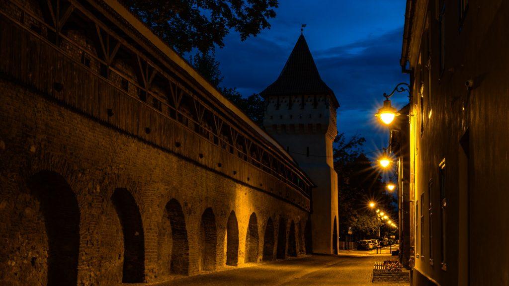 Workshop fotografie Sibiu noaptea