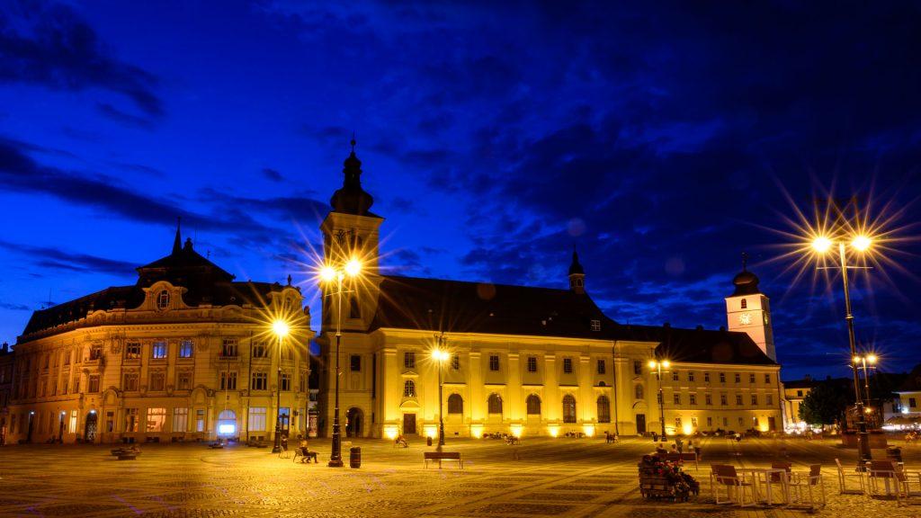 Workshop fotografie Sibiu Blue Hour